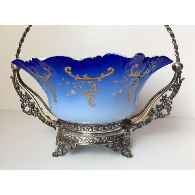 Wilcox Silver Victorian Brides Basket - Image 4 of 10