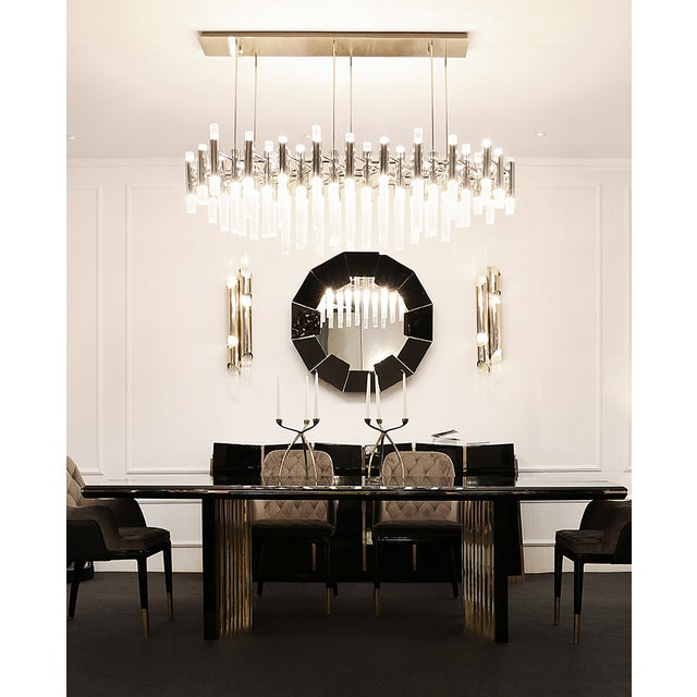 PRODUCT DESCRIPTION Materials like black lacquer and brass are combined into a perfect harmony in order to create a...