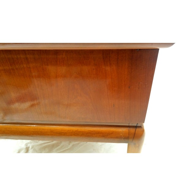 Mid Century Walnut Nightstands - a Pair - Image 10 of 10