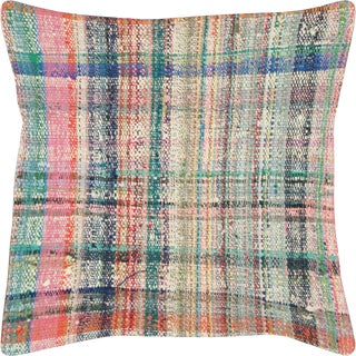 "1960s Turkish Hemp Pillow 20"" X 20"" For Sale"