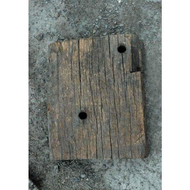 Coney Island & Far Rockaway Ipe Wood Souvenier Block - Image 2 of 3