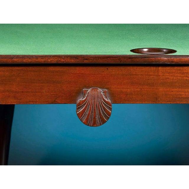 Mid 18th Century 18th Century Mahogany Irish Games Table For Sale - Image 5 of 6
