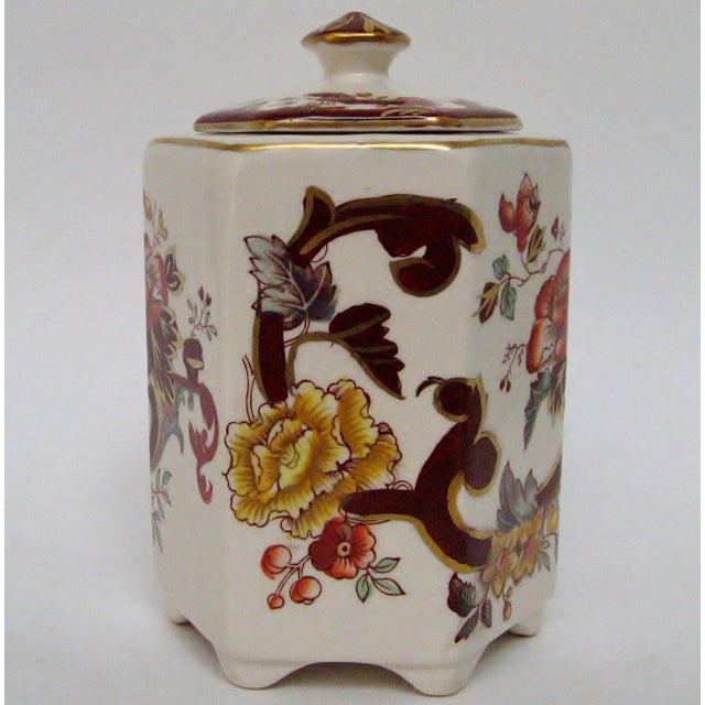 Mason's Ironstone Tea Caddy For Sale - Image 4 of 8