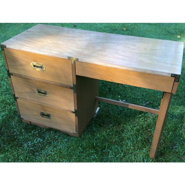 """1960's Drexel """"Campaigner"""" Desk - Image 3 of 8"""