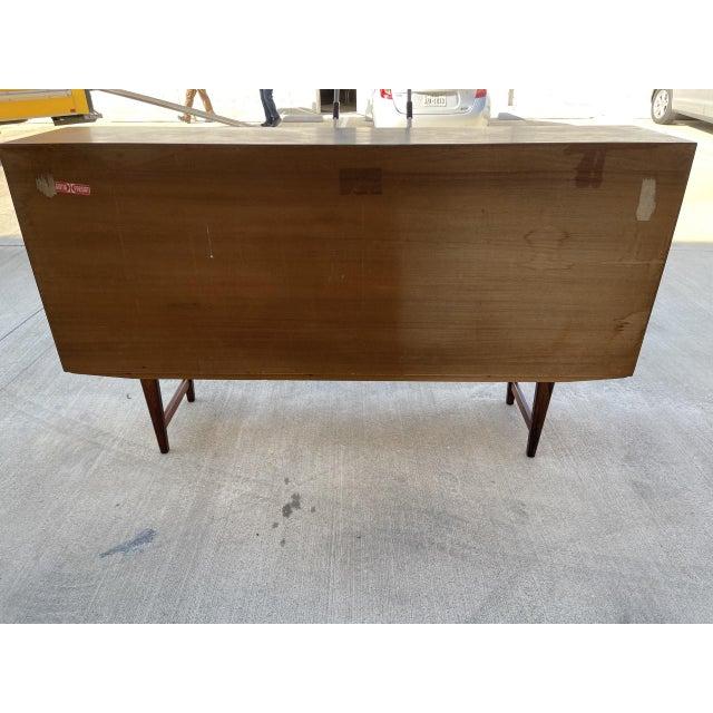 Arne Vodder Style Rosewood Highboard For Sale - Image 9 of 11