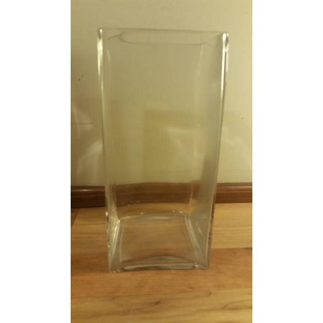 Rectangular Glass Vase - Image 3 of 5