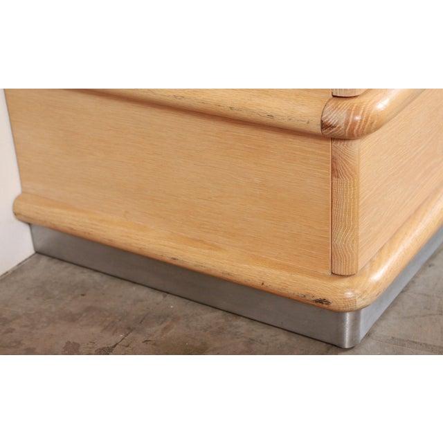 1980s Vintage Jay Spectre for Century Furniture Cerused Oak Dresser For Sale - Image 11 of 13