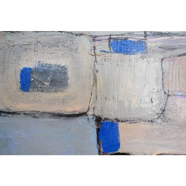 Modernist Abstract Painting - Image 2 of 5