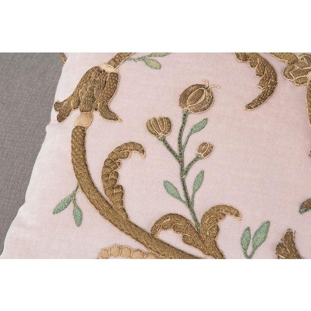 Antique Textile Pillow By B.Viz Designs - Image 4 of 7