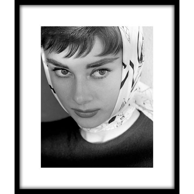 """Audrey Hepburn in """"Roman Holiday,"""" 1953. 11"""" x 14"""" silver gelatin fiber based print. Photo by John Engstead. Printed from..."""