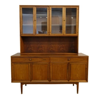 1960s Mid Century Modern Kipp Stewart Hutch For Sale