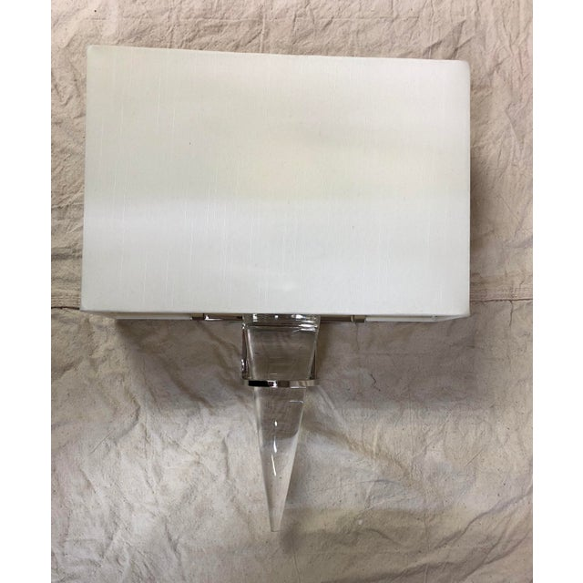 Larsen Wall Sconce by Currey and Company. Showroom sample. Light wear. Current stock. SW003 A5B5S3R