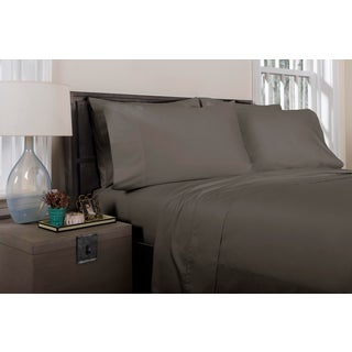 Florence Solid Flat Sheet Queen - Graphite Preview