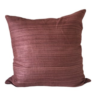 Abc Home Silk Striped Pillow Cover For Sale