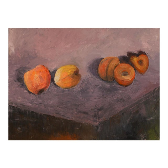Apricots Still Life Painting For Sale
