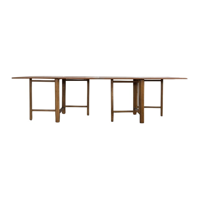 Bruno Mathsson Expandable Dining Table - Image 1 of 8