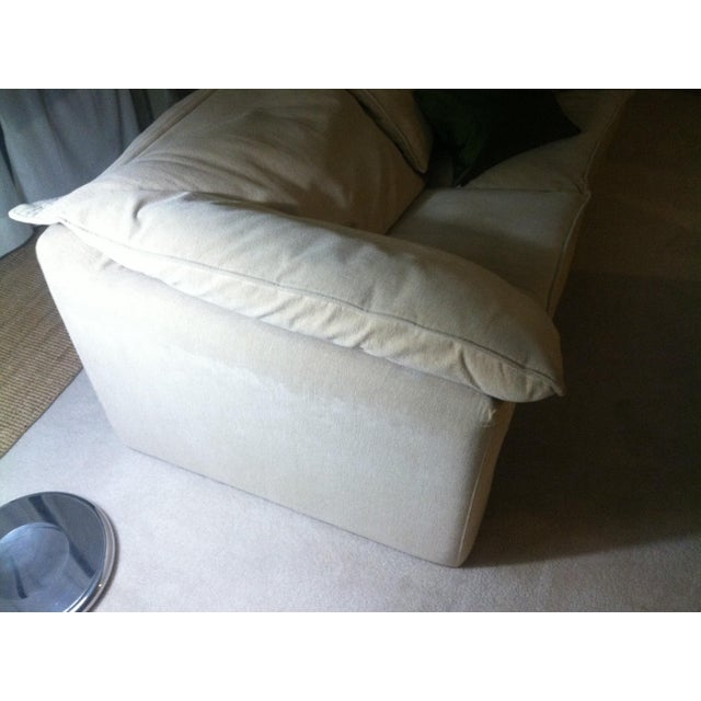 Contemporary N. Eilersen Danish Love Seat For Sale - Image 3 of 5