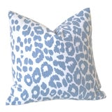 Image of SkyLeopard Schumacher Pillow Cover - 22x22 For Sale