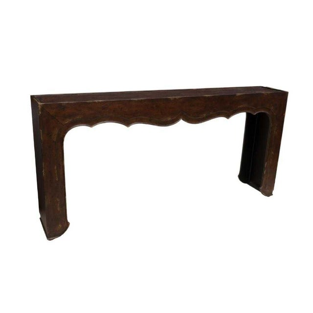Contemporary Hooker Furniture 'Melange Fallon' Console Table For Sale - Image 3 of 12