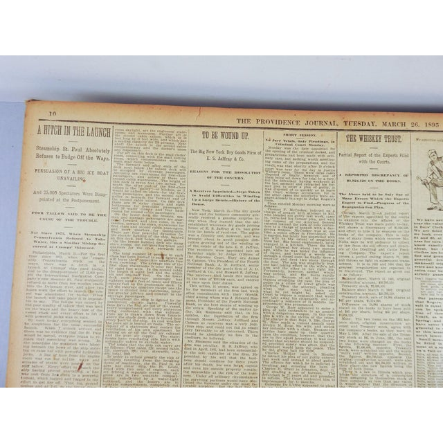 1895 Providence R I  Bound Newspapers
