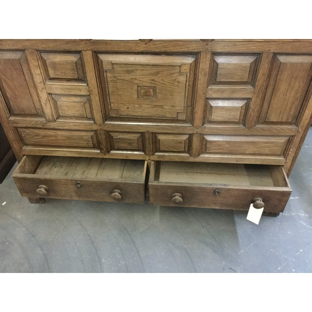 Welsh Oak Mule Chest Circa 1820 For Sale In Tampa - Image 6 of 9