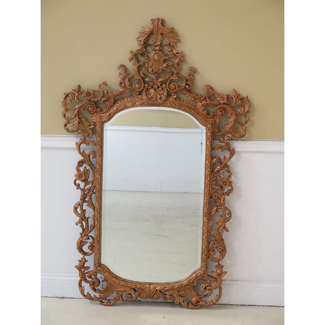 Theodore Alexander French Style Paint Decorated Mirror For Sale - Image 11 of 11