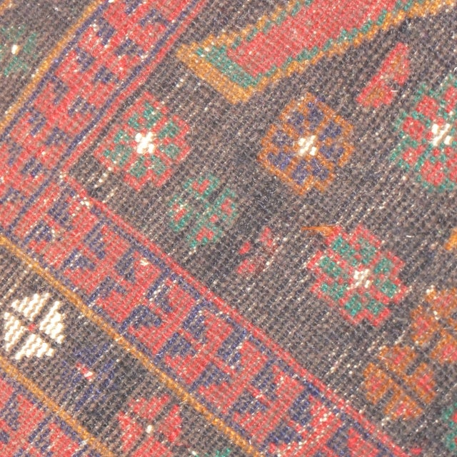 Patterned Baluch Rug - 3' x 5' - Image 4 of 5