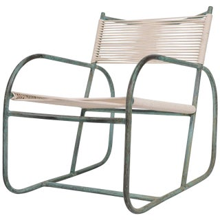 Early Model Walter Lamb Lounge Chair For Sale