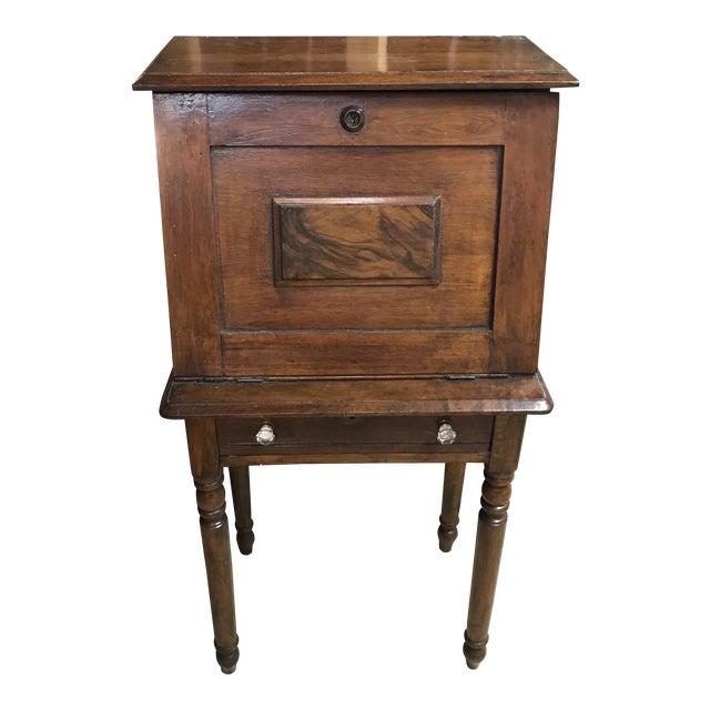 19th Century Early American Eastlake Oak Ladies Desk For Sale
