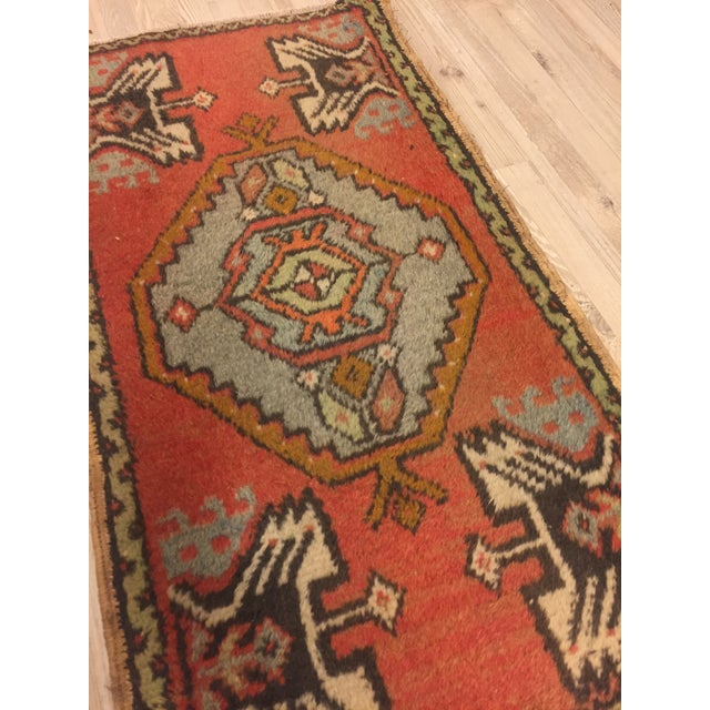 "Anatolian Tribal Handmade Carpet - 1'7"" x 3' - Image 4 of 6"