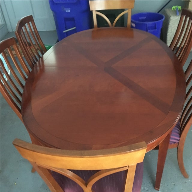 Grange France Dining Table With Six Chairs - Image 4 of 10
