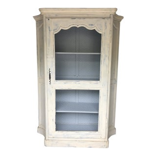 Antique French Provincial Pastry Cabinet For Sale