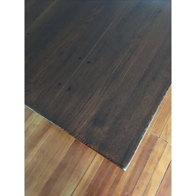 Traditional Solid Wood Dining Table - Image 3 of 5