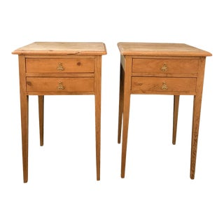 French Nightstands/Side Tables - a Pair For Sale
