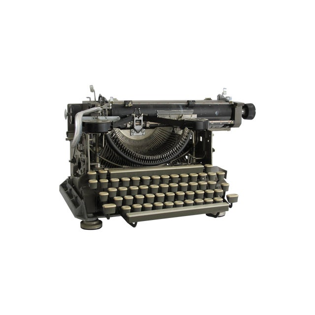 "1920s ""Blind"" Writing Style Typewriter For Sale"