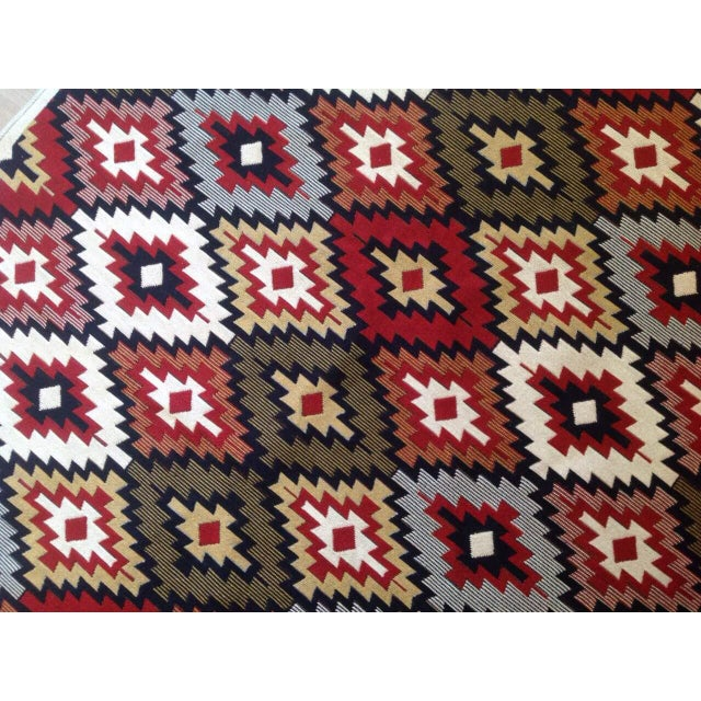 Reversible Kilim Inspired Rug - 3′11″ × 5′11″ - Image 5 of 11
