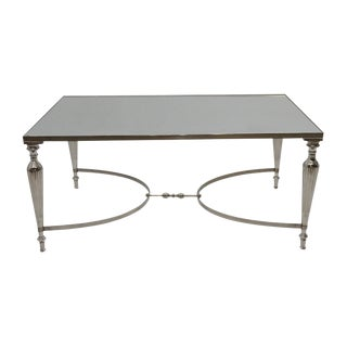 Cakra Coffee Table With Mirrored Top For Sale