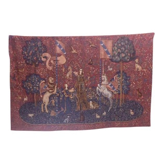 Reproduction Belgian Tapestry Made in France For Sale