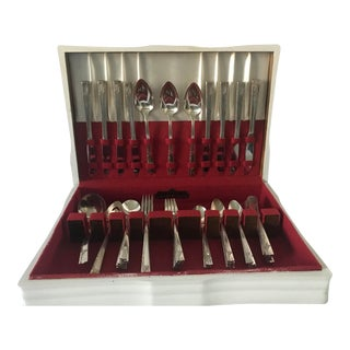 "1937 ""Caprice"" Nobility Plate Silverware Set For Sale"