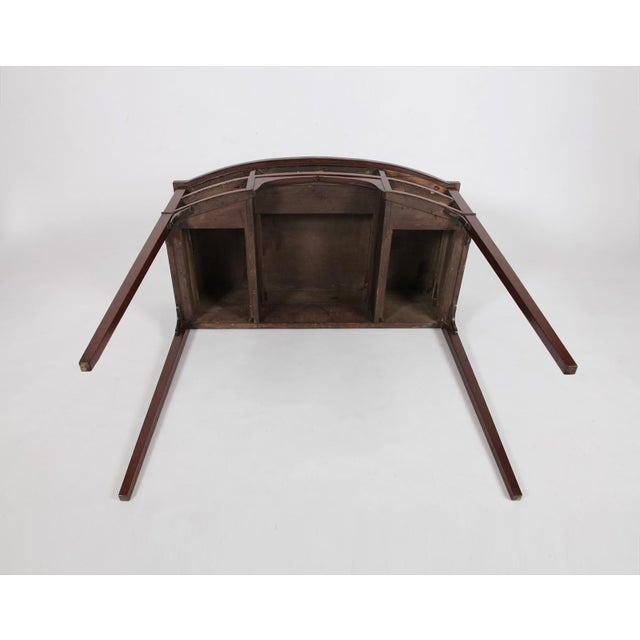 Brown Antique English Regency Dressing Table For Sale - Image 8 of 9