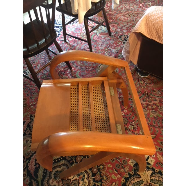 Mid-Century Modern 1950's Scandinavian Mid - Century Modern Beechwood Chair For Sale - Image 3 of 13