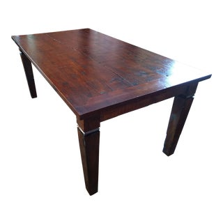 Reclaimed Teak Custom Crafted Farm Table