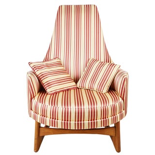 Mid Century Round Armchair Craft Associates For Sale