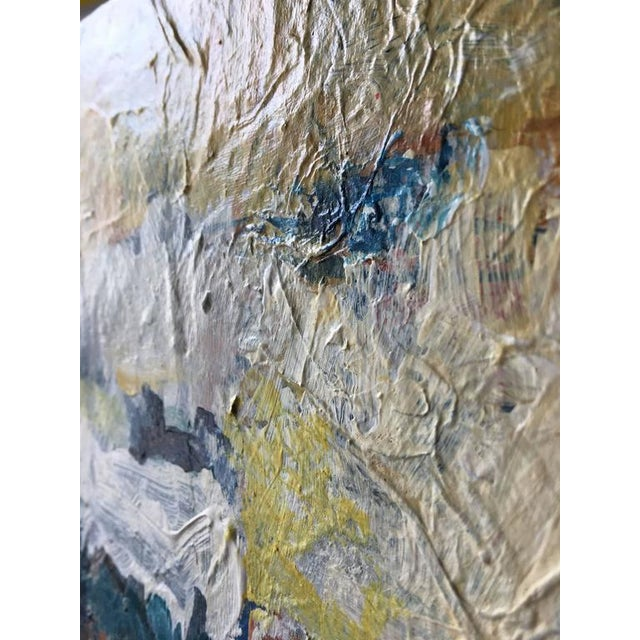 "Abstract Contemporary Abstract Acrylic Painting ""Box Study 3"" by Mary Lou Siefker For Sale - Image 3 of 5"