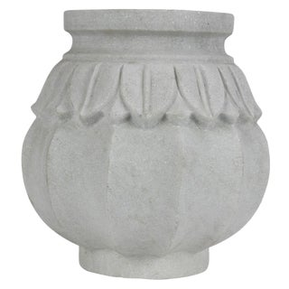Large Lian Marble Vase For Sale