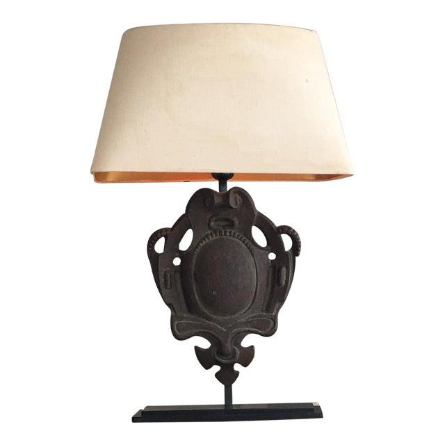 Restoration hardware bruges iron table lamp chairish restoration hardware bruges iron table lamp image 1 of 7 mozeypictures Choice Image