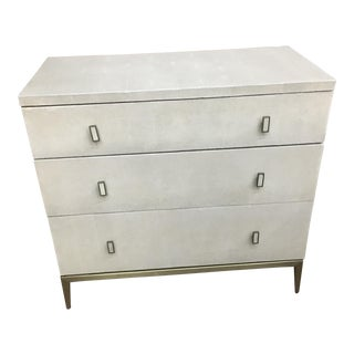 Mitchell Gold Solange 3 Drawer Chest Small For Sale