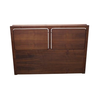 George Tanier Selection Danish Teak Full Headboard For Sale