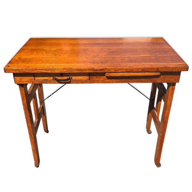 Antique Tiger Oak Portable Typewriter Table A stunning piece! Let your imagination run wild with this one! Possible...