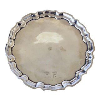 Sheffield Sterling Footed Tray (1909)